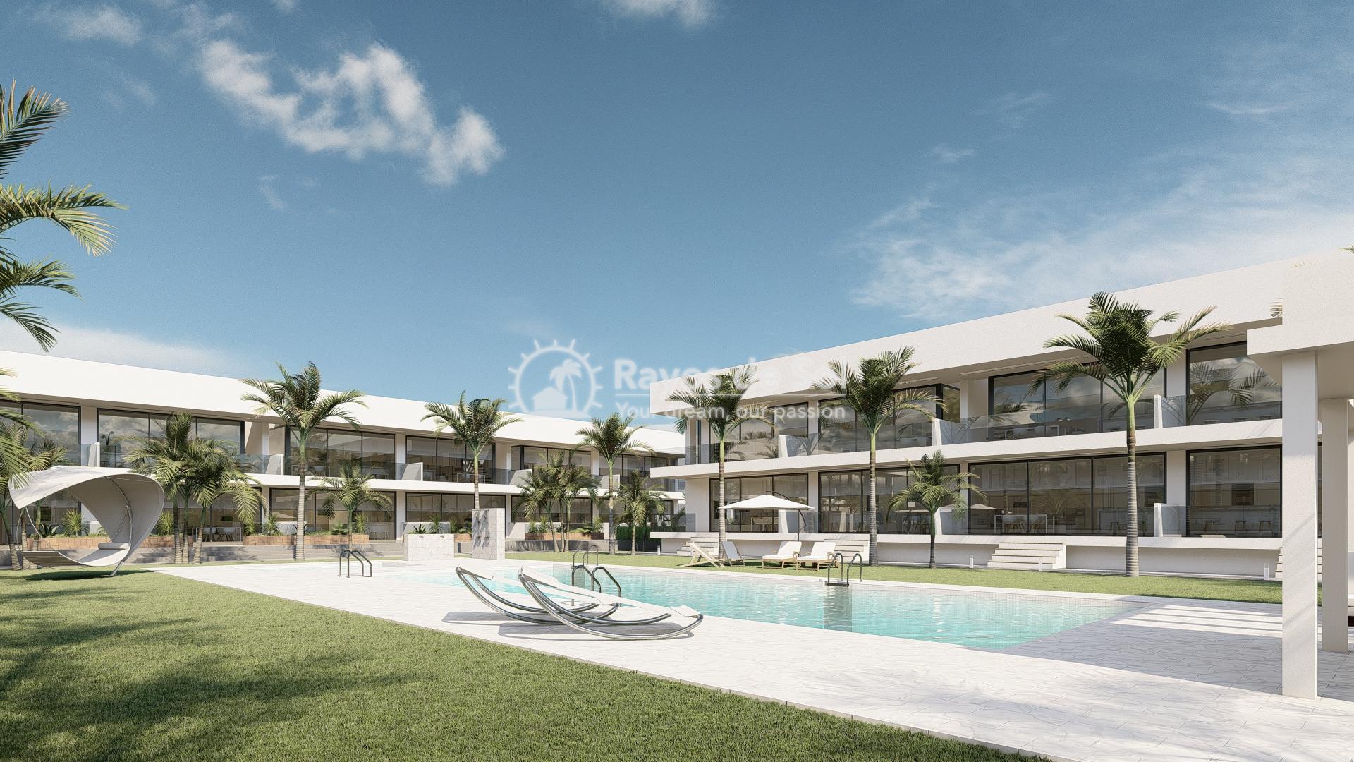 Modern ground floor apartment   in Mar de Cristal, La Manga del Mar Menor, Costa Cálida (Antilla-2d-b) - 9