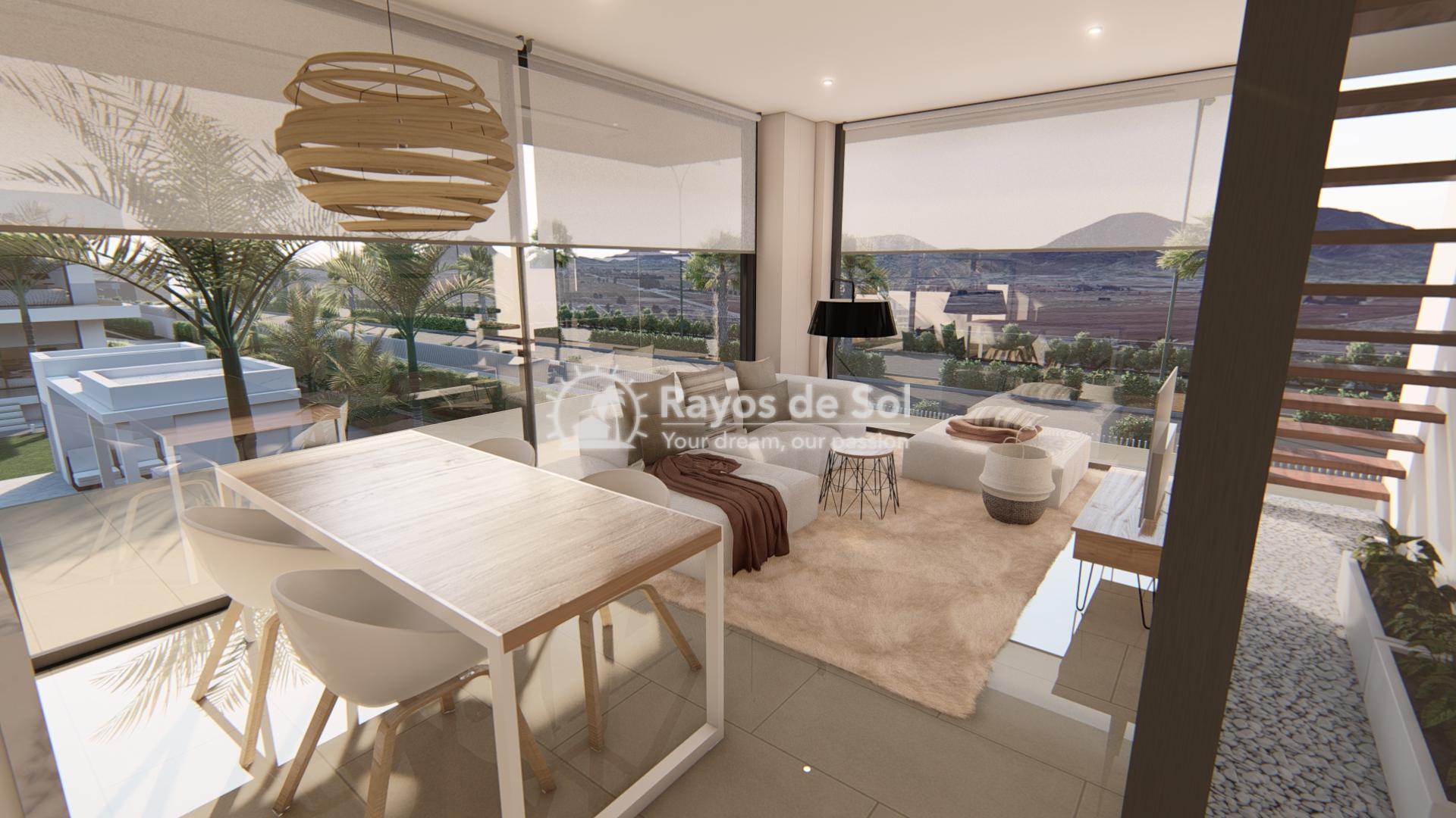 Modern ground floor apartment   in Mar de Cristal, La Manga del Mar Menor, Costa Cálida (Antilla-2d-b) - 7
