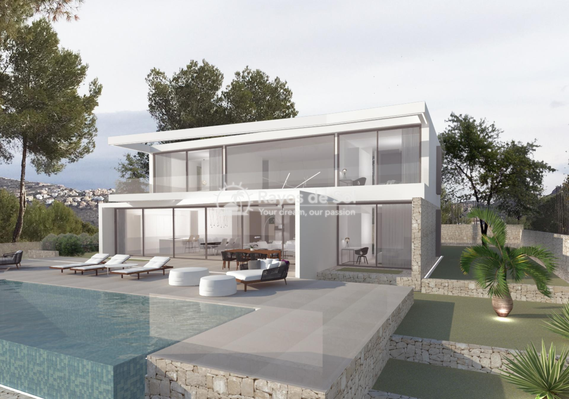 Villa  in Moraira, Costa Blanca (MOGEMO) - 2