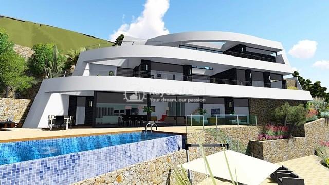 Newbuild villa  in Benissa, Costa Blanca (A-2425) - 5