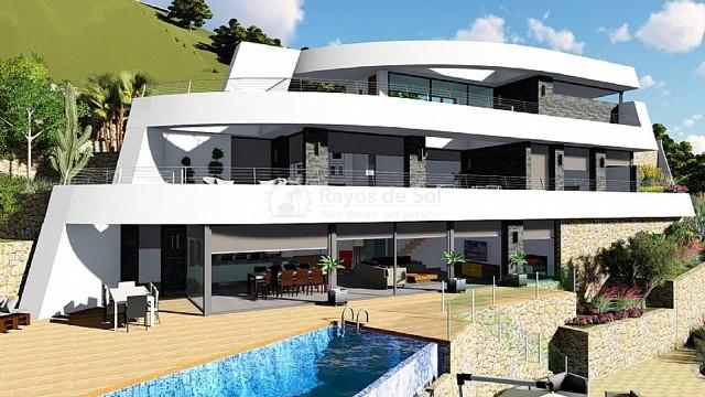 Newbuild villa  in Benissa, Costa Blanca (A-2425) - 4