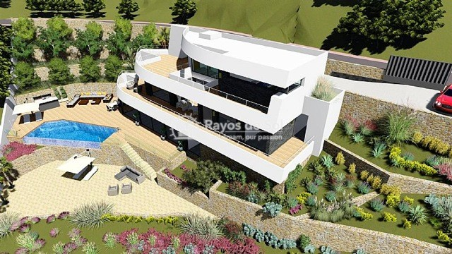 Newbuild villa  in Benissa, Costa Blanca (A-2425) - 7