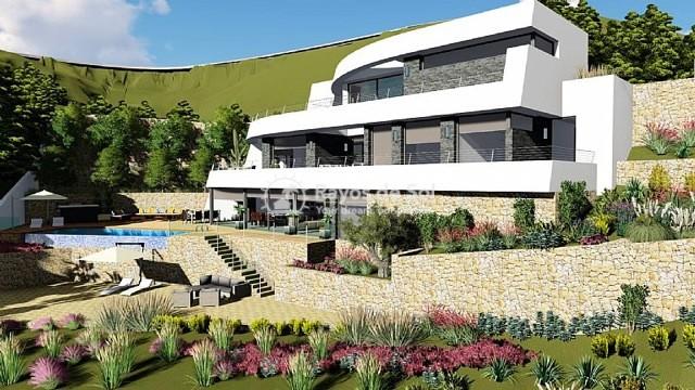 Newbuild villa  in Benissa, Costa Blanca (A-2425) - 2