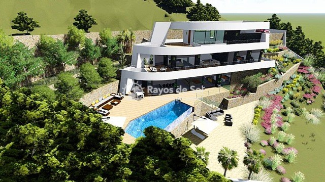 Newbuild villa  in Benissa, Costa Blanca (A-2425) - 9
