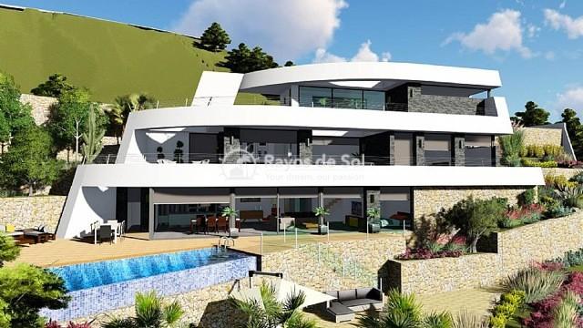 Newbuild villa  in Benissa, Costa Blanca (A-2425) - 1