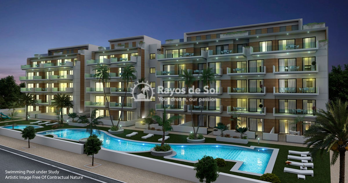 Beach apartments  in Guardamar del Segura, Costa Blanca (Mare-Nostrum-apt3) - 1