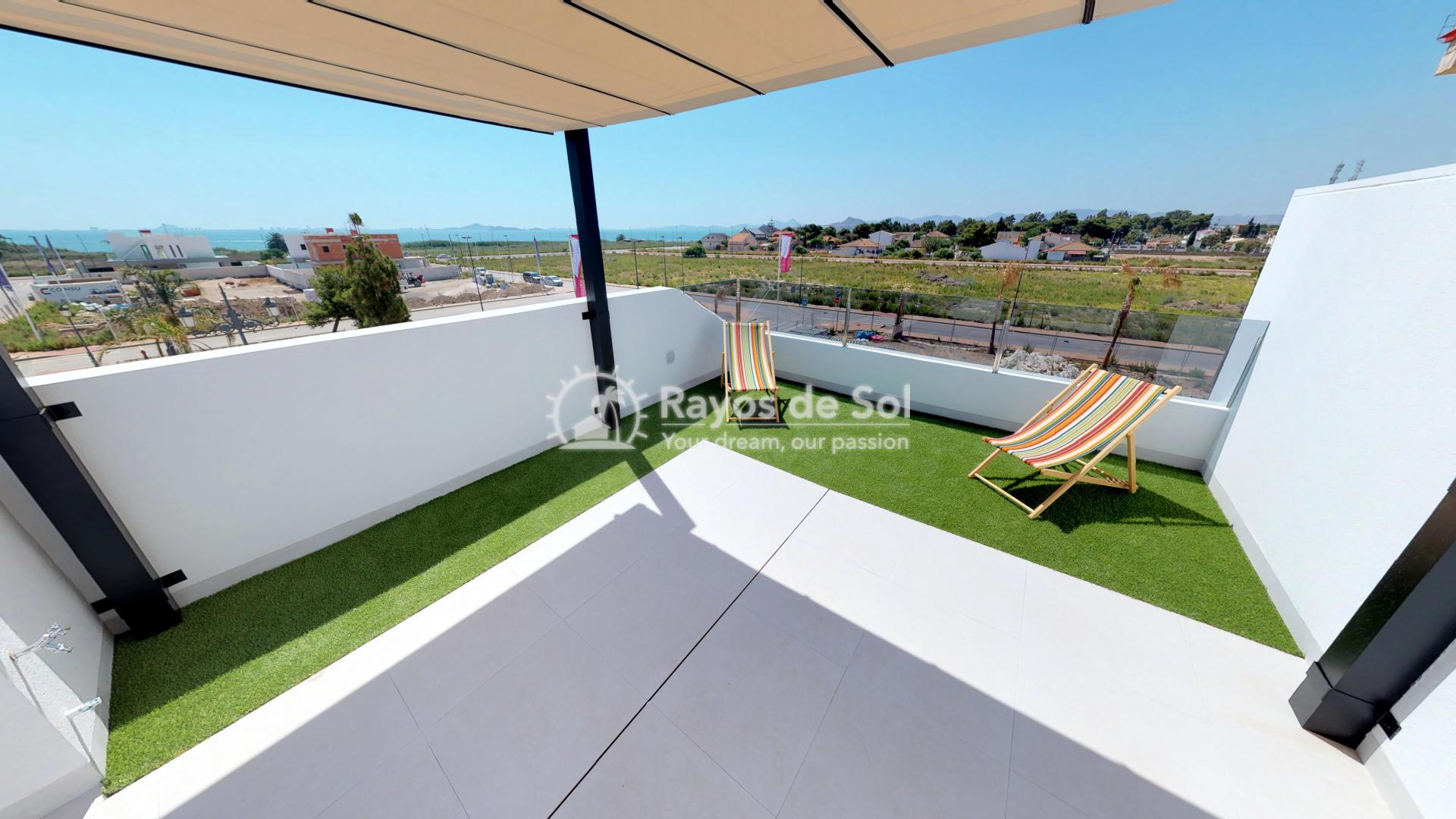 Semi-detached villa  in Los Alcazares, Costa Cálida (LAGUPA2) - 39