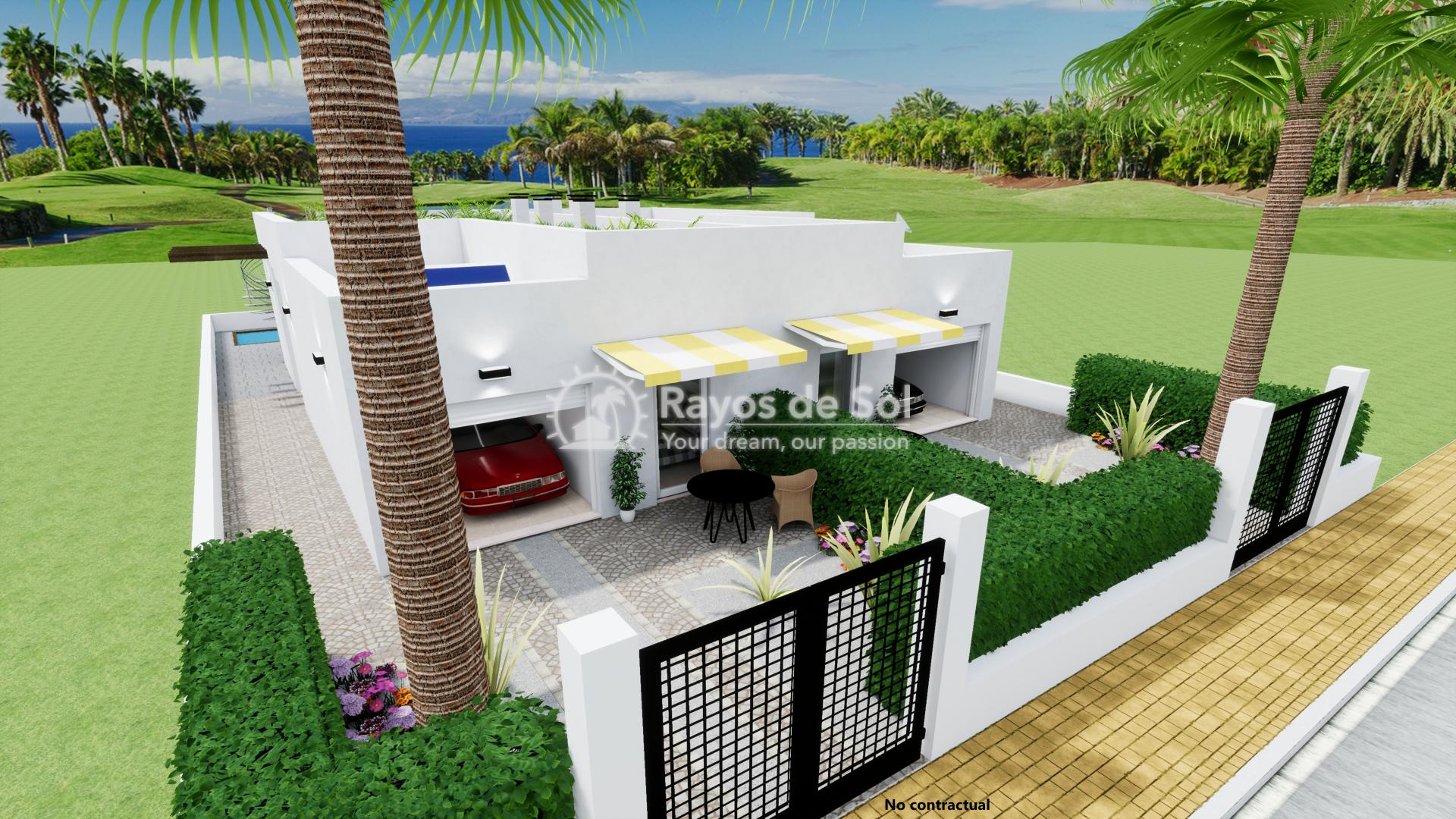 Semi-detached villa  in Los Alcazares, Costa Cálida (LASGBV) - 2