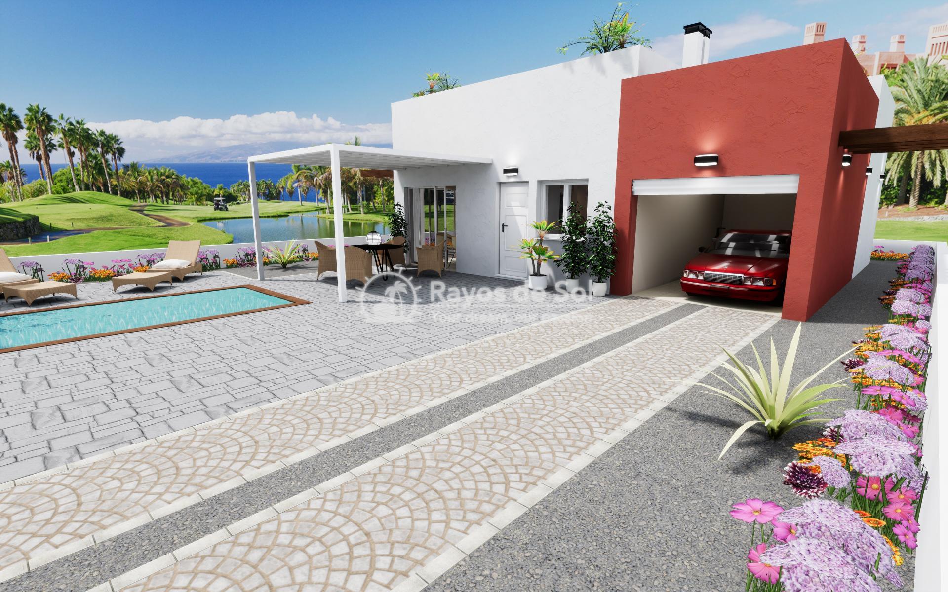 Detached single-storey villa  in Los Alcazares, Costa Cálida (LASGMA) - 16