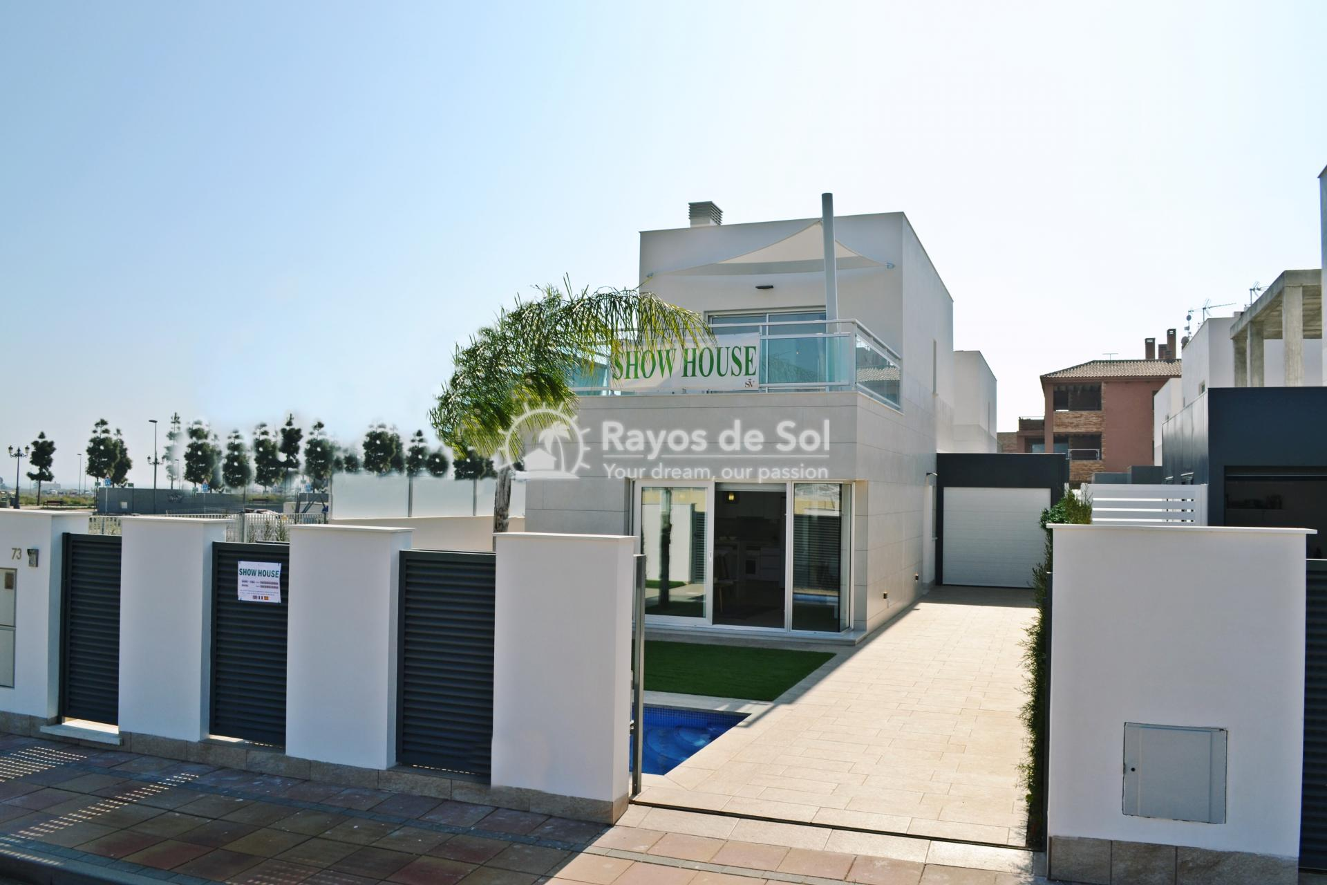 Detached villa  in Los Alcazares, Costa Cálida (Salado villa) - 1