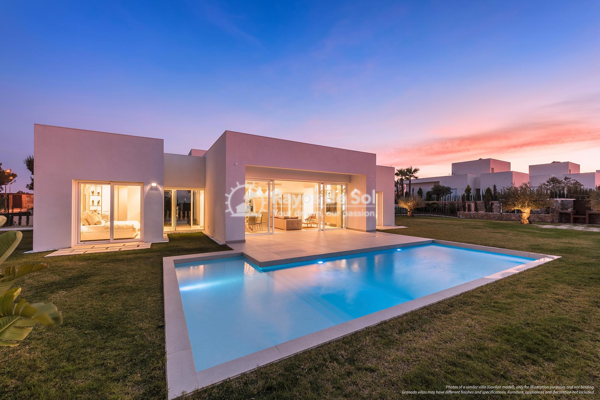 Stunning villa  in Las Colinas, Orihuela Costa, Costa Blanca (LCMAGR34) - 1