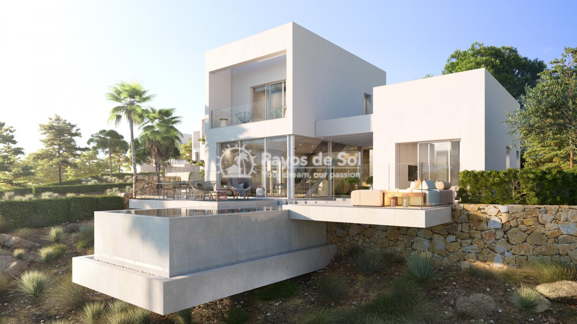 Southfacing villa  in Las Colinas, Orihuela Costa, Costa Blanca (LCMAMAD3) - 5