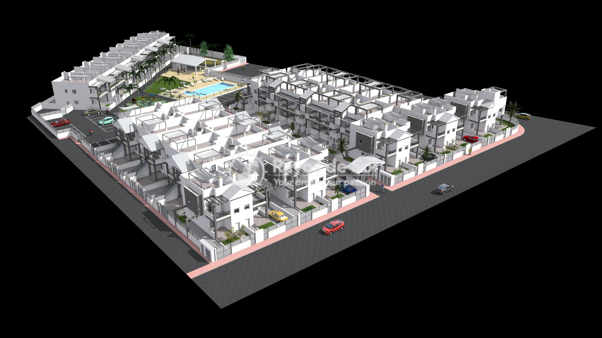 Appartement begane grond  in La Florida, Orihuela Costa, Costa Blanca (Oasis place BG3-2) - 25