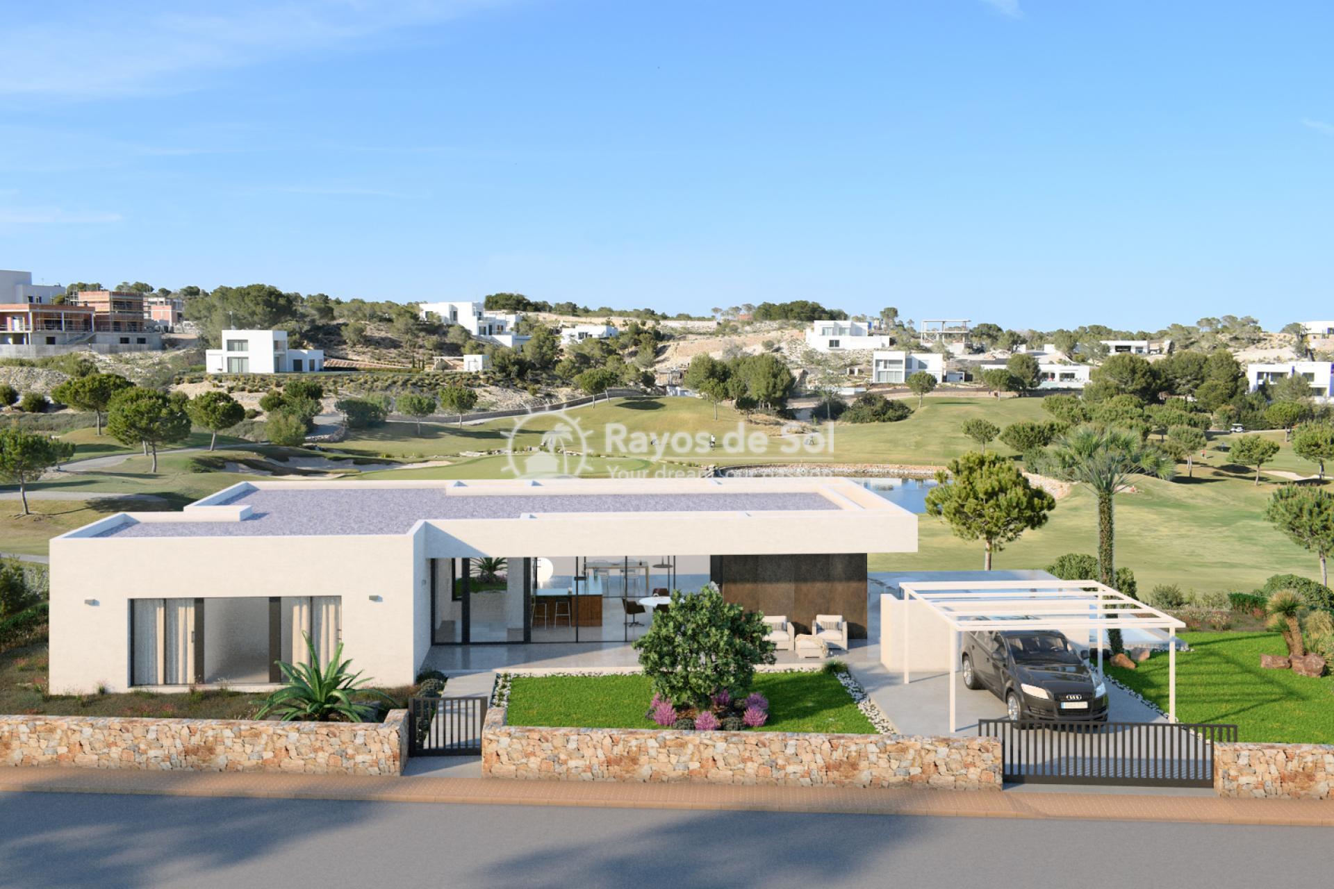 Detached villa  in Las Colinas, Orihuela Costa, Costa Blanca (OCGEMAD2) - 2