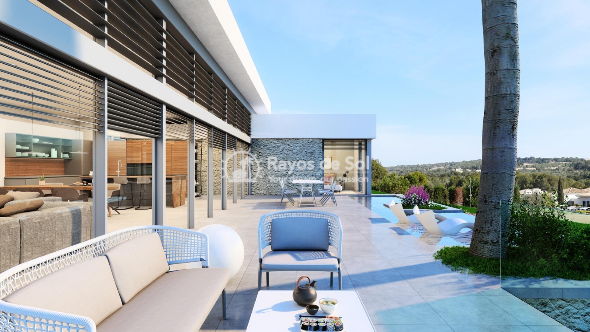 Single-storey detached villa  in Las Colinas, Orihuela Costa, Costa Blanca (OCGEMI26) - 12