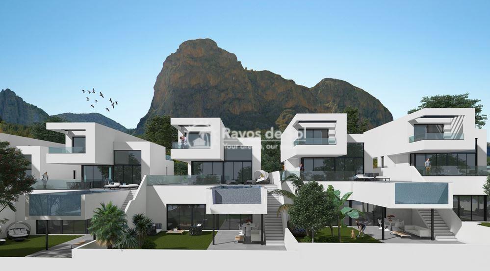 Stunning villa  in Polop, Costa Blanca (POLAVE3JU) - 1