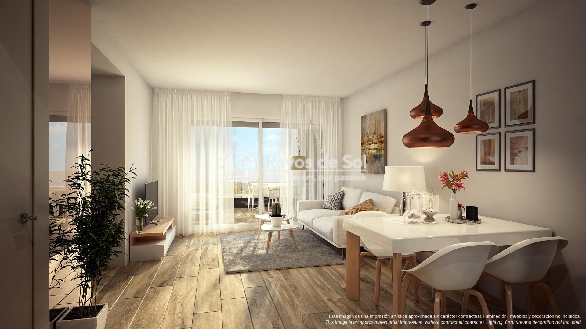 Apartment  in Punta Prima, Orihuela Costa, Costa Blanca (PPTRBA2-2A) - 3