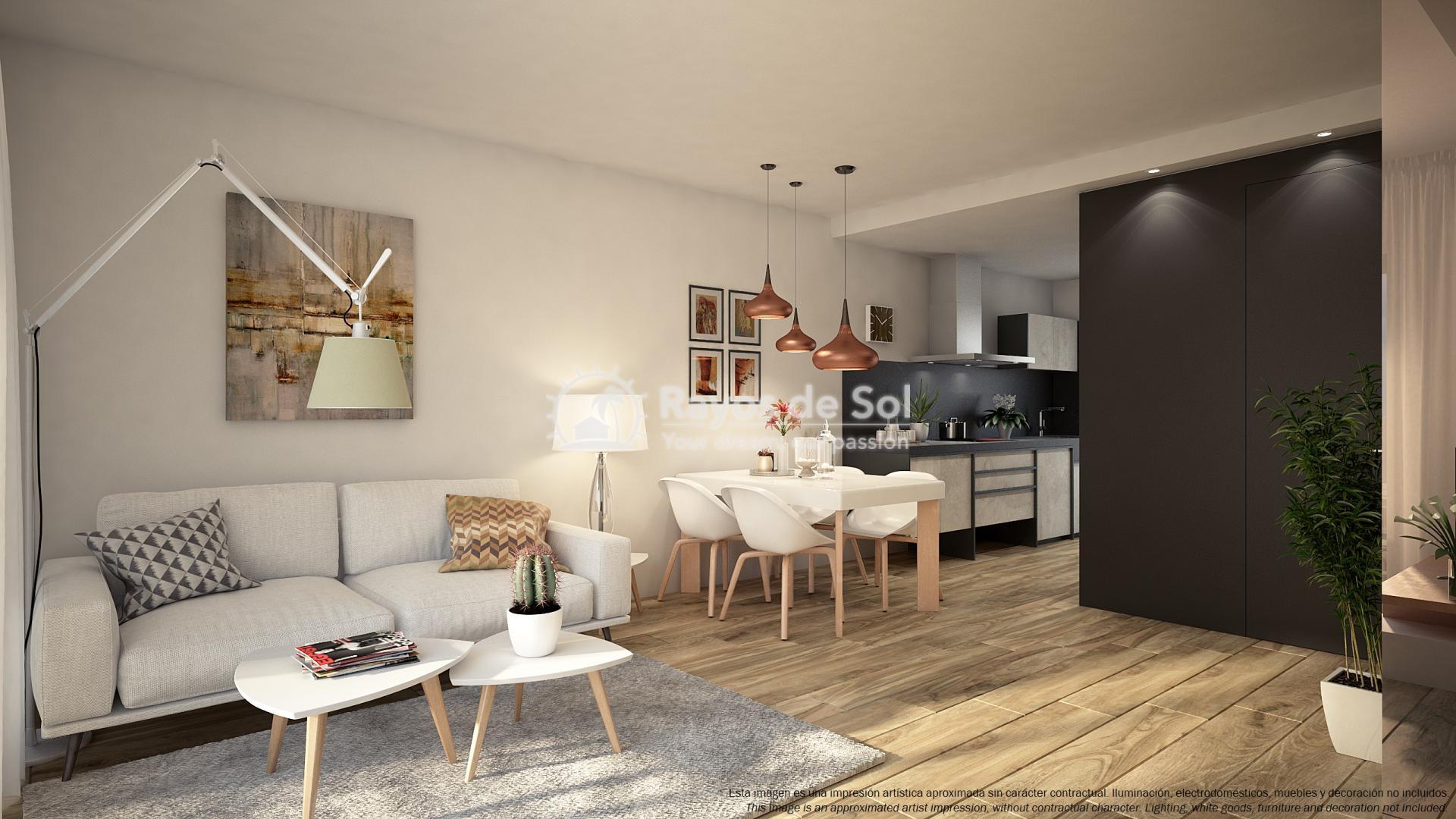 Ground floor apartment  in Punta Prima, Orihuela Costa, Costa Blanca (PPTRBA2-2B) - 6