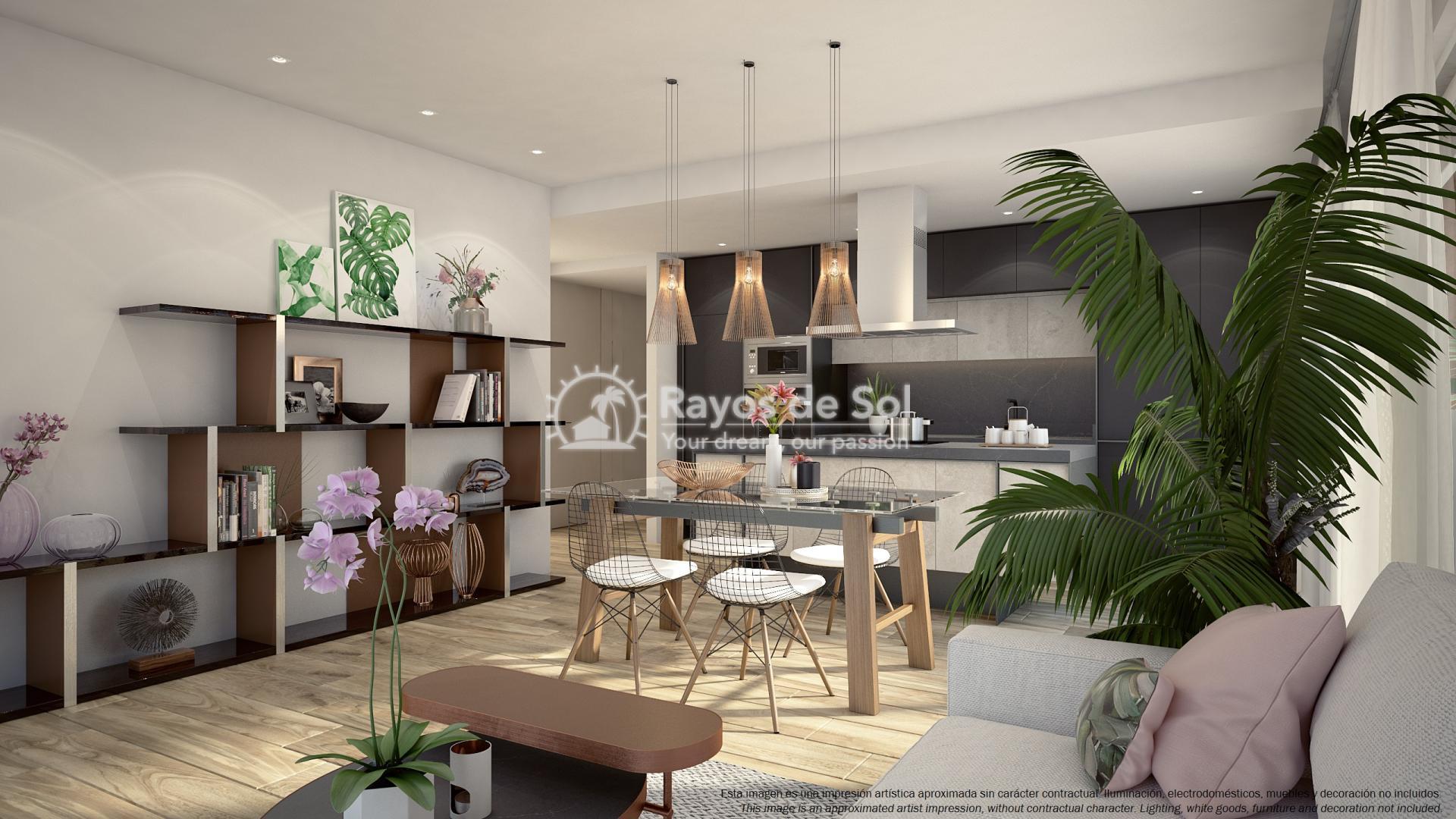 Ground floor apartment  in Punta Prima, Orihuela Costa, Costa Blanca (PPTRBA2-2B) - 9