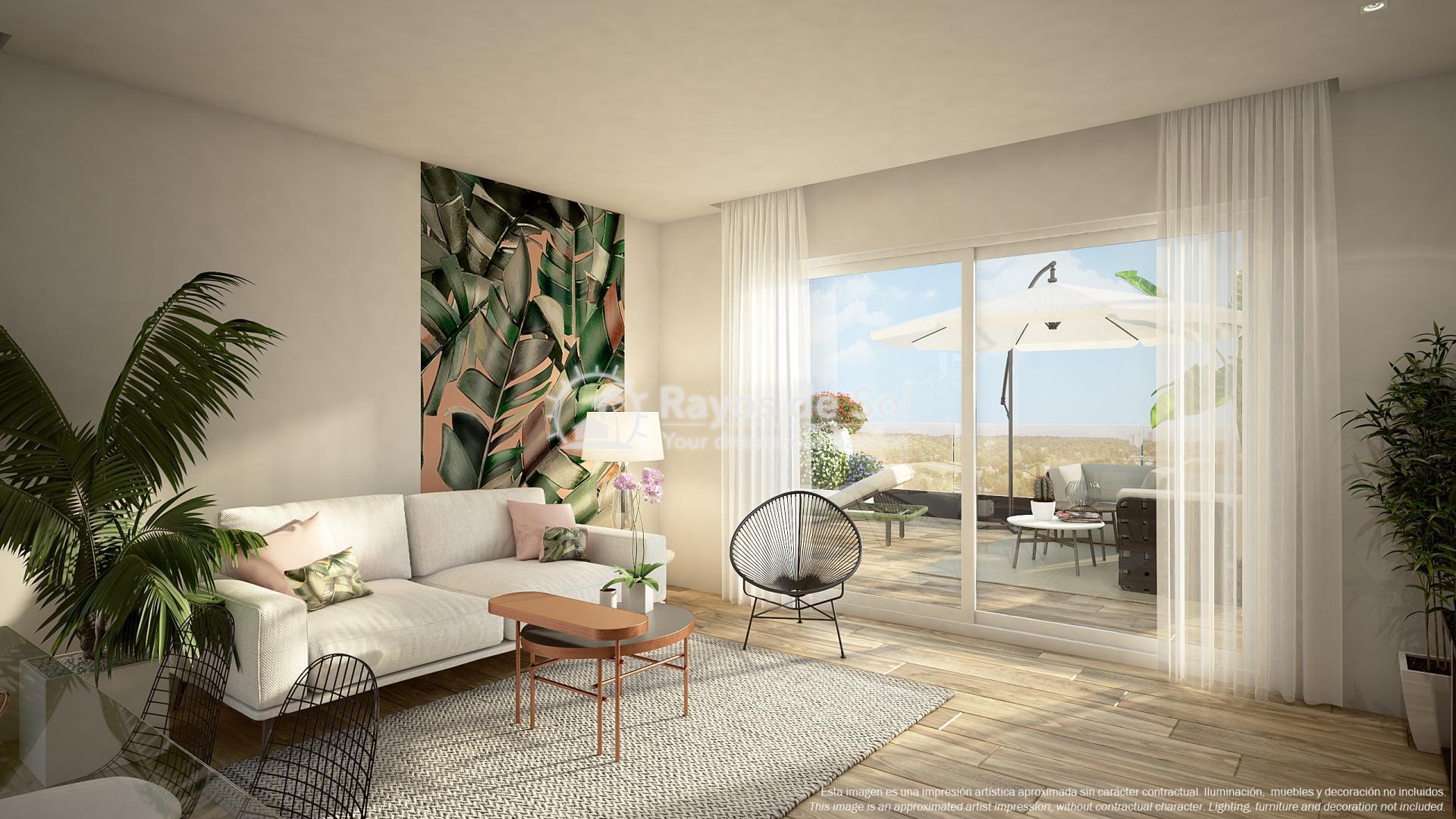 Ground floor apartment  in Punta Prima, Orihuela Costa, Costa Blanca (PPTRBA2-2B) - 5