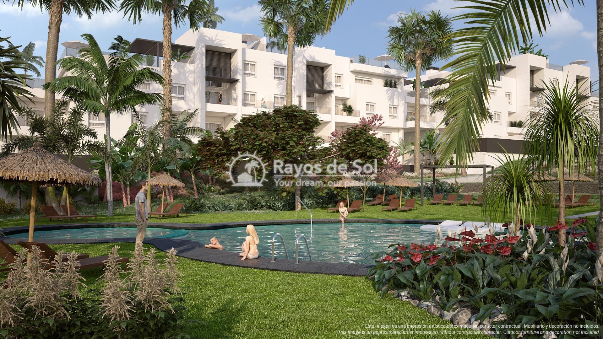 Ground floor apartment  in Punta Prima, Orihuela Costa, Costa Blanca (PPTRBA2-2B) - 1
