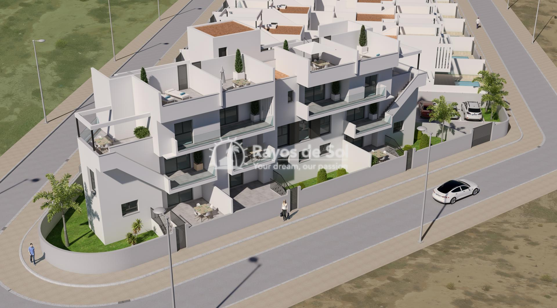 Ground floor apartment  in Roda, Los Alcazares, Costa Cálida (ROUCRA3-2A) - 5