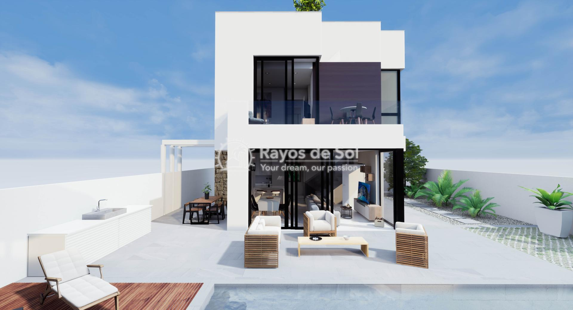 Vrijstaande villa  in Aguas Nuevas, Costa Blanca (Azullik-villa) - 2