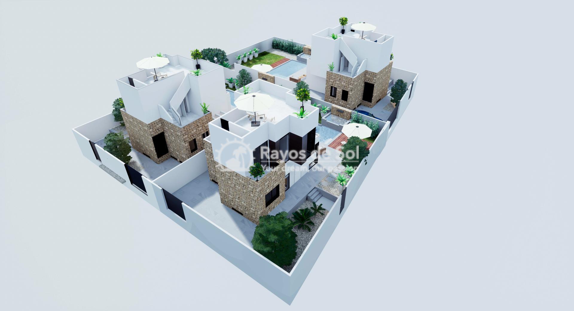 Vrijstaande villa  in Aguas Nuevas, Costa Blanca (Azullik-villa) - 31