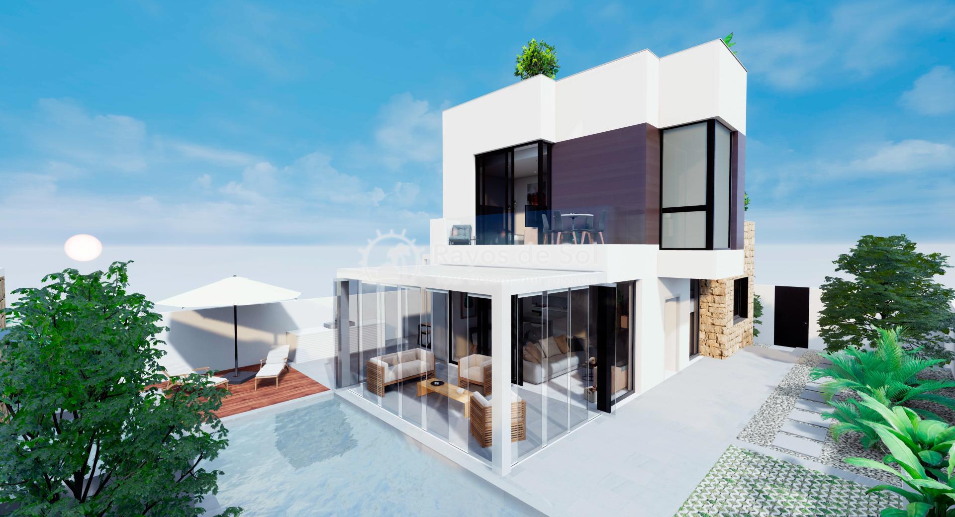 Vrijstaande villa  in Aguas Nuevas, Costa Blanca (Azullik-villa) - 23