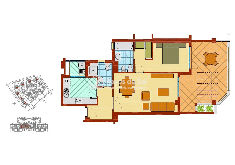 Apartment  in Sierra Cortina, Finestrat, Costa Blanca (FIMUEB1-2) - 13