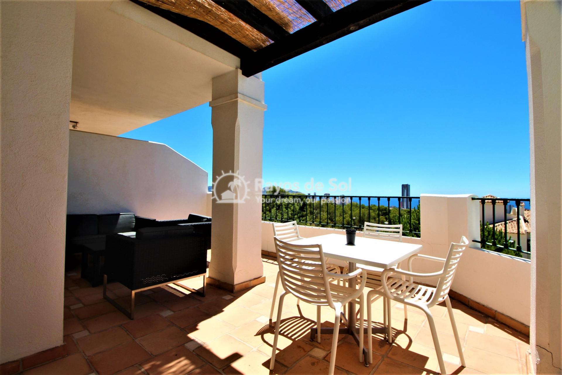Apartment  in Sierra Cortina, Finestrat, Costa Blanca (FIMUEB1-2) - 1