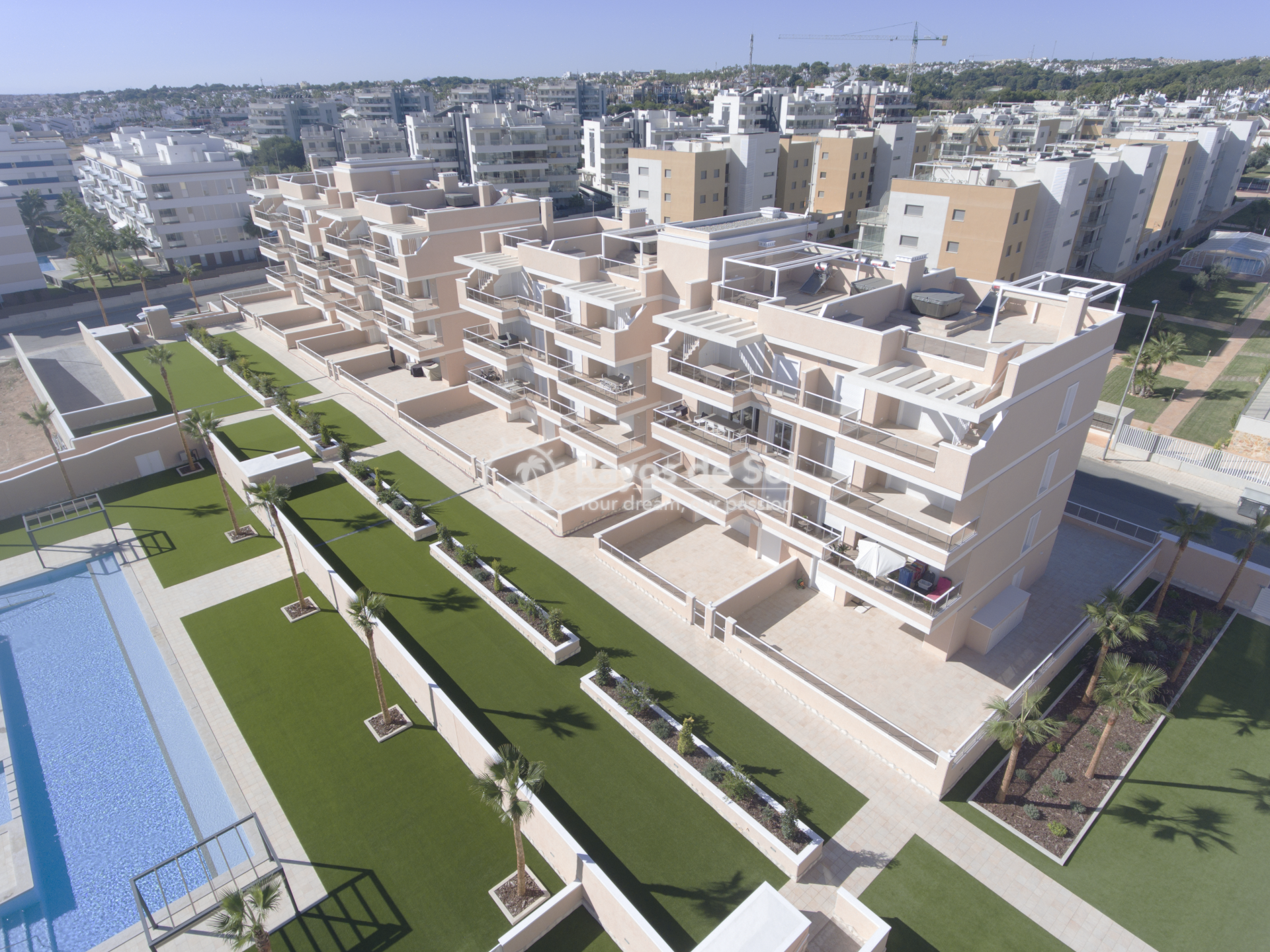 Penthouse  in La Zenia, Orihuela Costa, Costa Blanca (Vista Azul 31 PH3-2) - 38