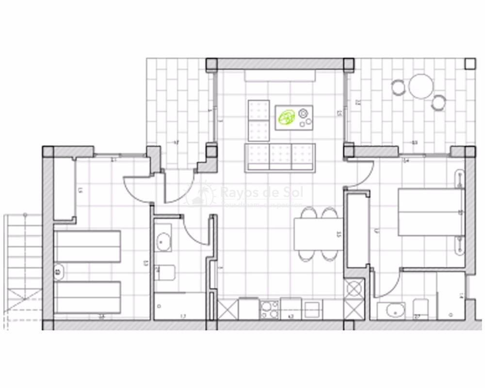 Ground Floor Apartment  in Algorfa, Costa Blanca (lagos-onega-gf) - 19