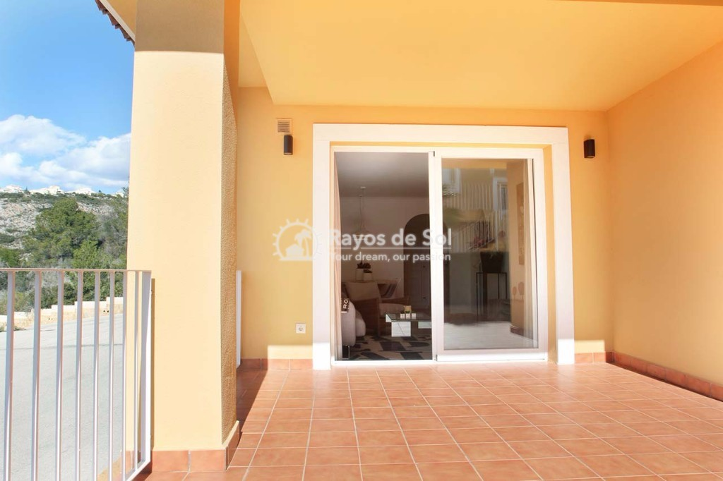 Ground Floor Apartment in Cumbre del Sol, Benitachell, Costa Blanca (cdsol-jardinesmont-gf) - 17