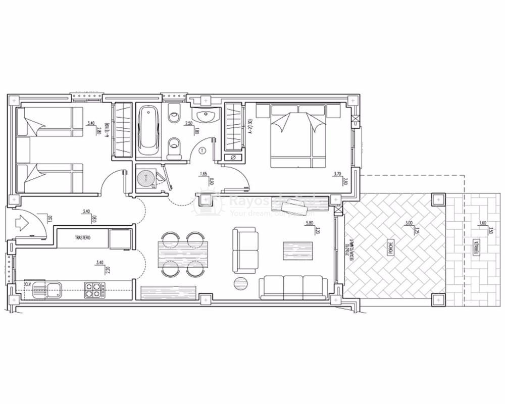 Ground Floor Apartment in Cumbre del Sol, Benitachell, Costa Blanca (cdsol-jardinesmont-gf) - 26