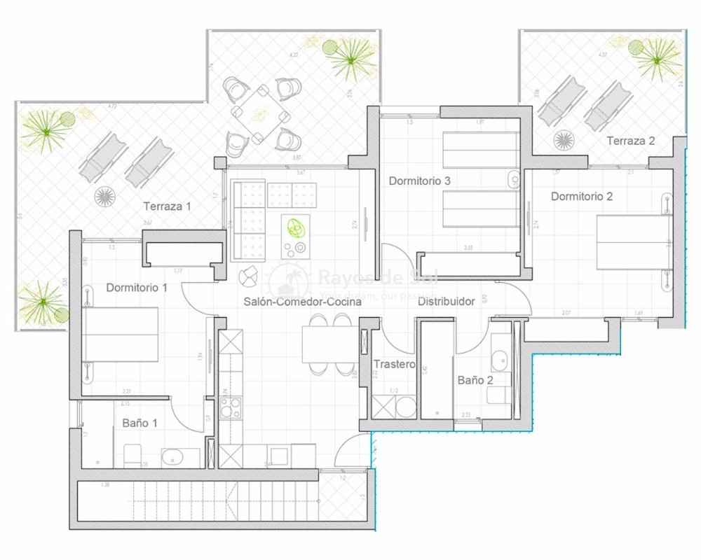 Penthouse  in Orihuela Costa, Costa Blanca (loira3-ph) - 20