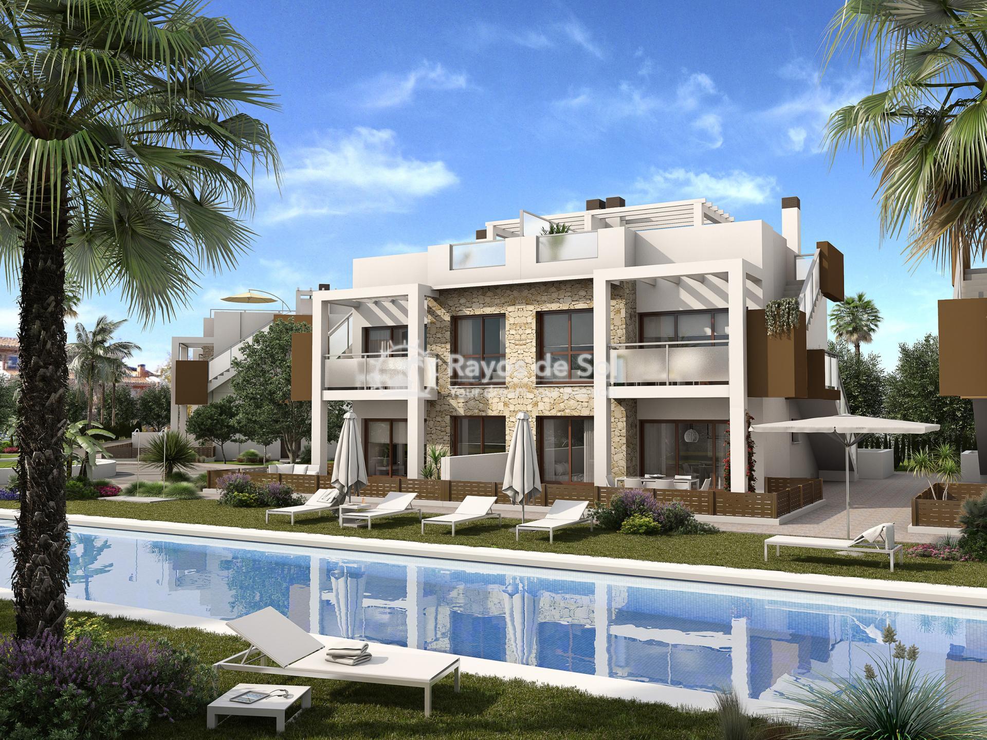 Ground Floor Apartment  in Torrevieja, Costa Blanca (balcones-gf2d) - 1