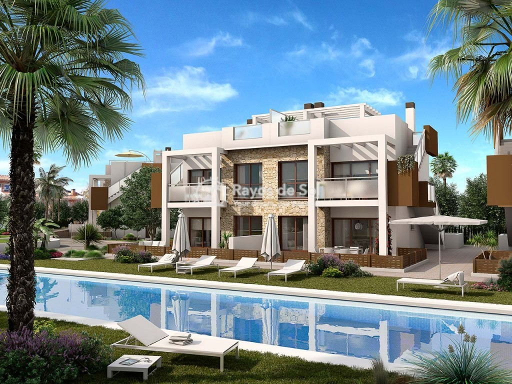 Penthouse  in Torrevieja, Costa Blanca (balcones-tf3d) - 1