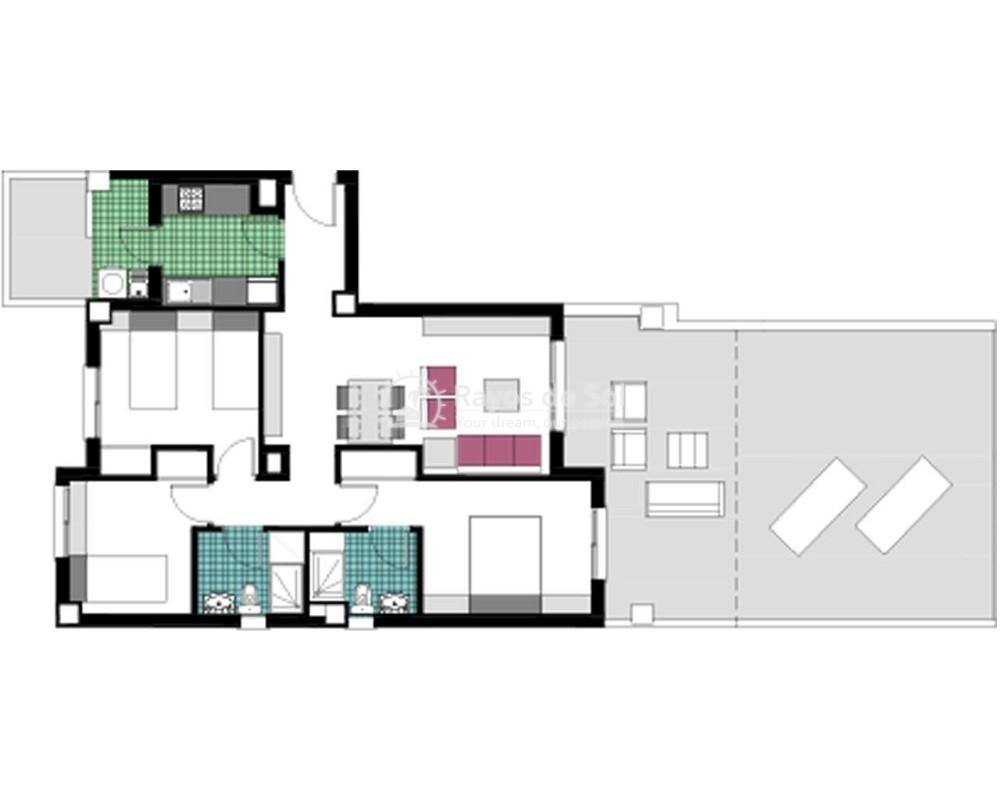 Apartment  in Mil Palmeras, Costa Blanca (garda-gfap-3d) - 17