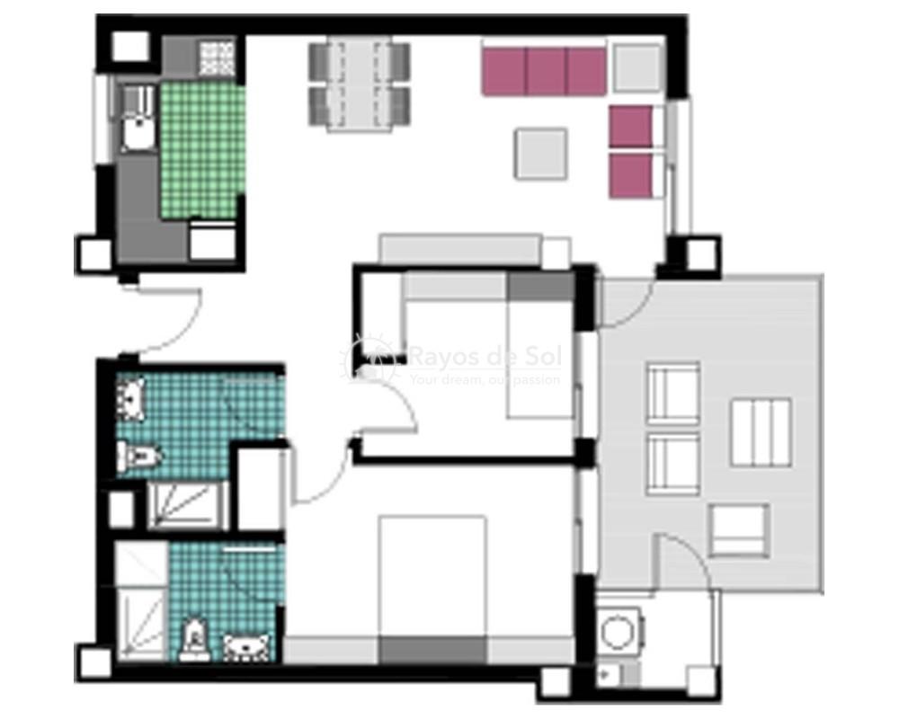 Apartment  in Mil Palmeras, Costa Blanca (garda-2d) - 17