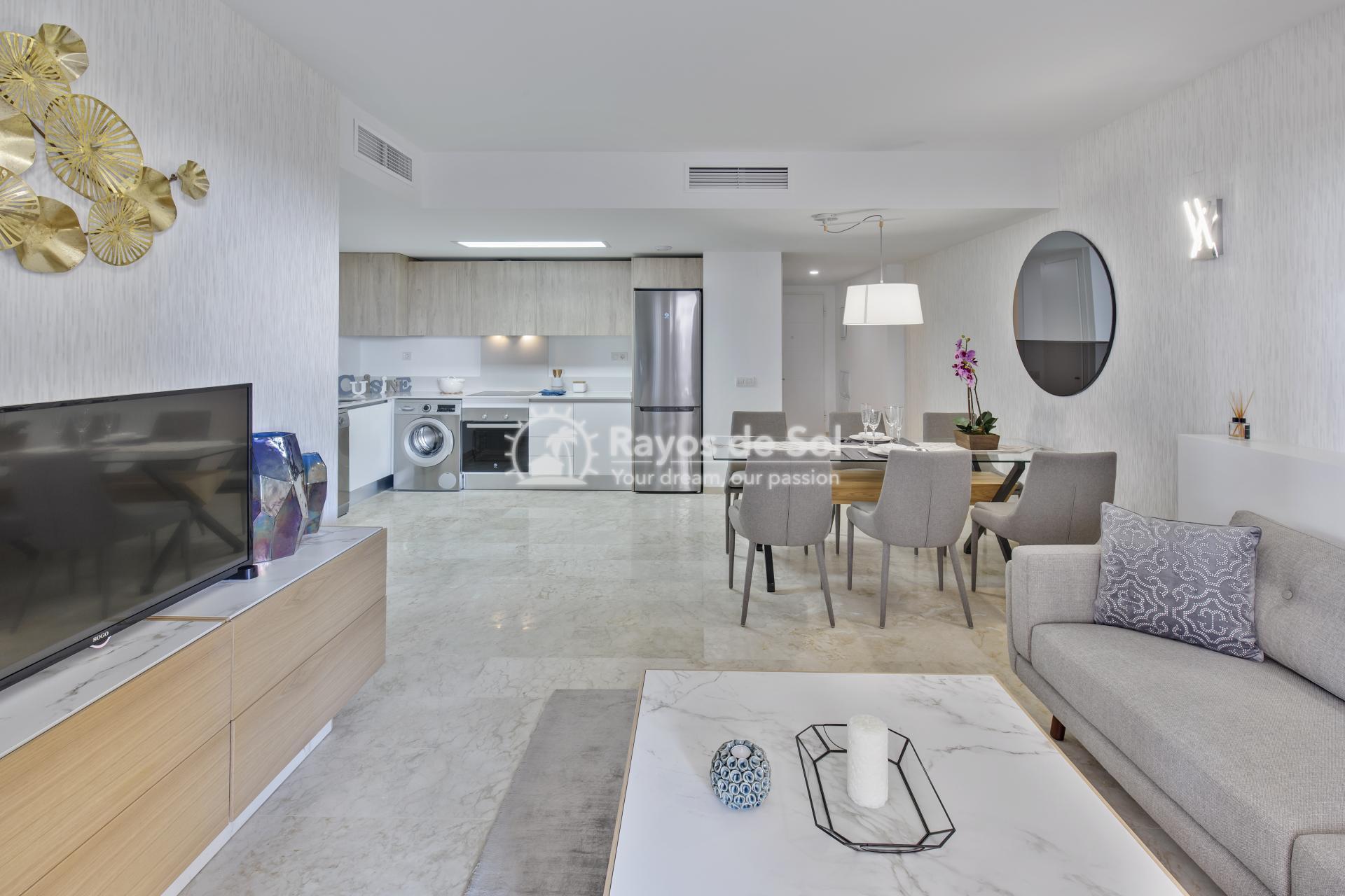 Apartment  in Punta Prima, Orihuela Costa, Costa Blanca (recoleta3-3d) - 6