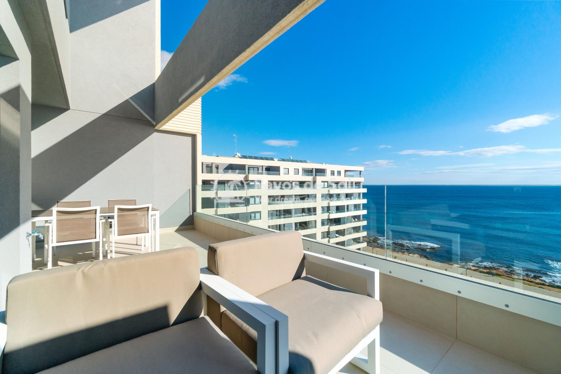 Penthouse  in Punta Prima, Orihuela Costa, Costa Blanca (panoramam-2d-PH) - 9