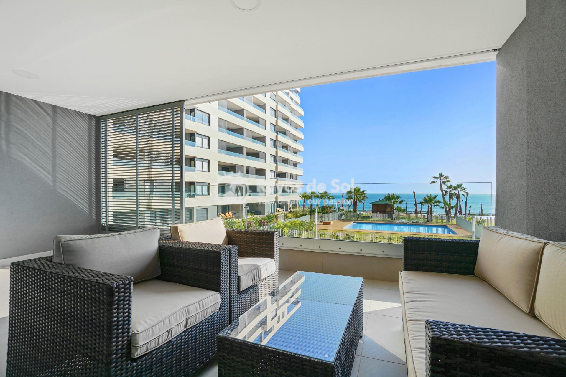Apartment  in Punta Prima, Orihuela Costa, Costa Blanca (panoramam-3d) - 12