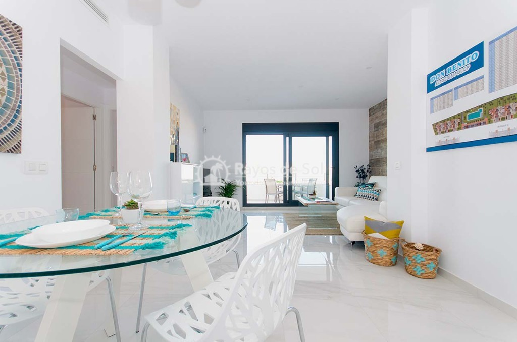 Ground Floor Apartment  in Polop, Costa Blanca (dbenitopolop-gf3d) - 9