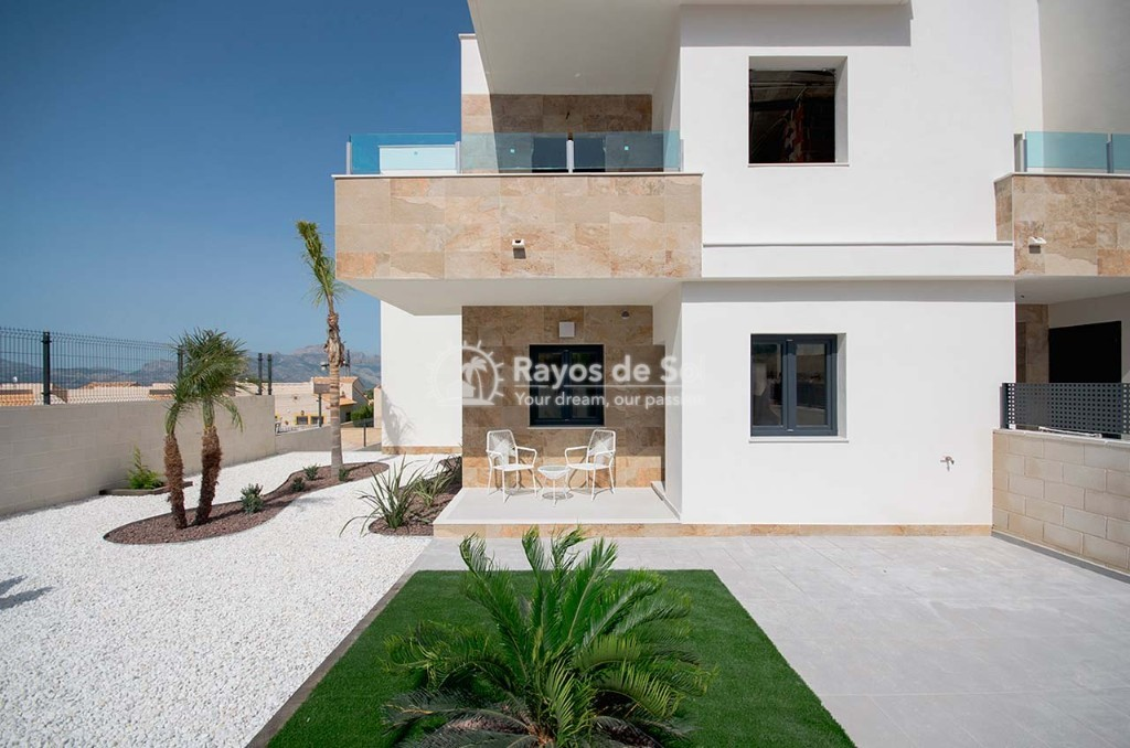 Ground Floor Apartment  in Polop, Costa Blanca (dbenitopolop-gf3d) - 26