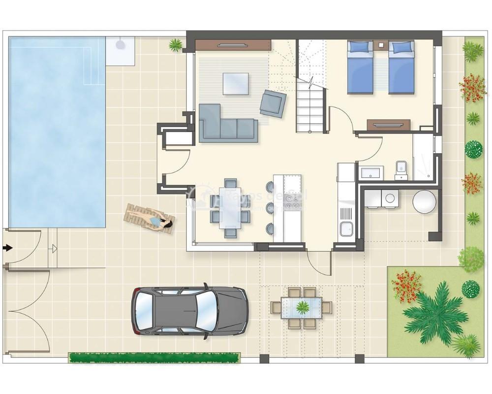Villa  in Ciudad Quesada, Costa Blanca (lagunas-azul) - 62