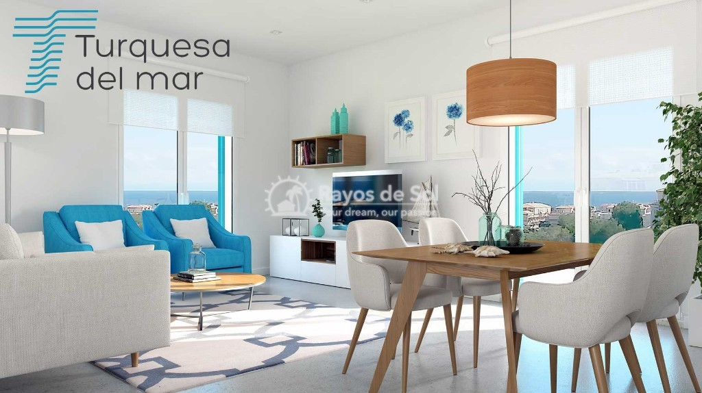 Apartment  in Playa Flamenca, Orihuela Costa, Costa Blanca (turquesadm-3d) - 2