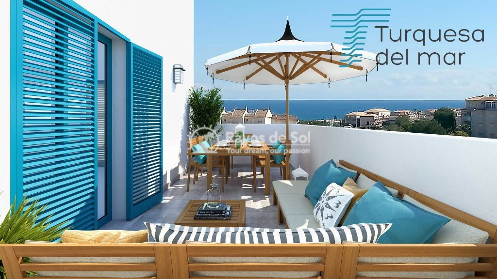 Apartment  in Playa Flamenca, Orihuela Costa, Costa Blanca (turquesadm-3d) - 5