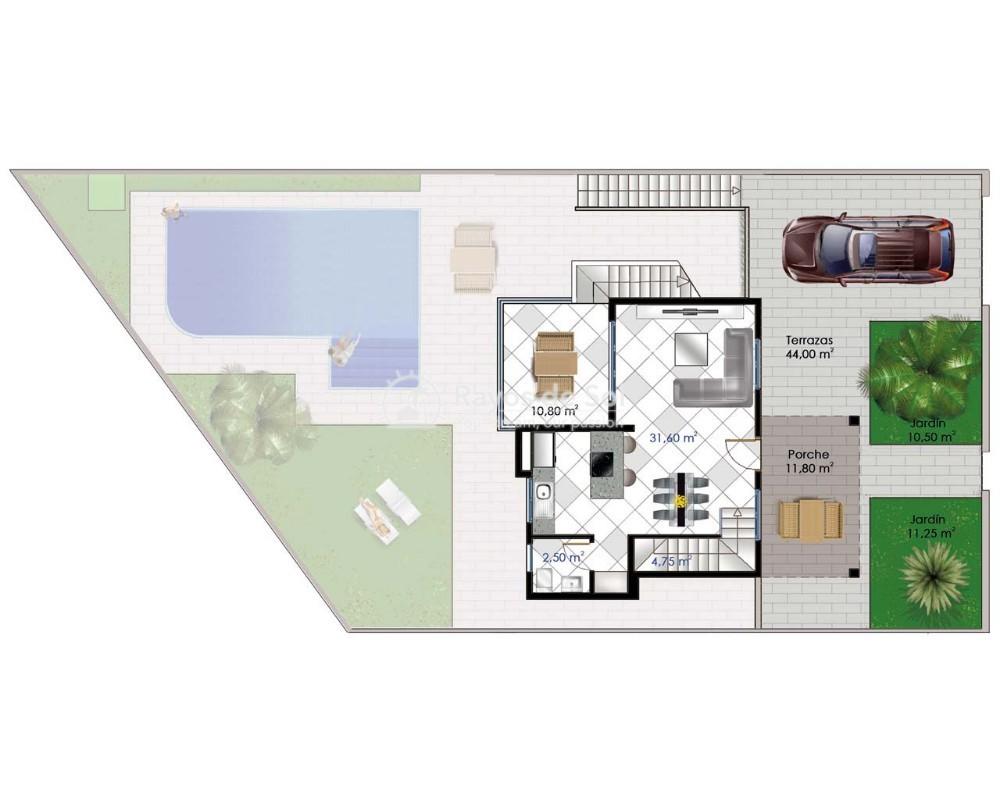 Villa  in Ciudad Quesada, Costa Blanca (cq2-macarena) - 12