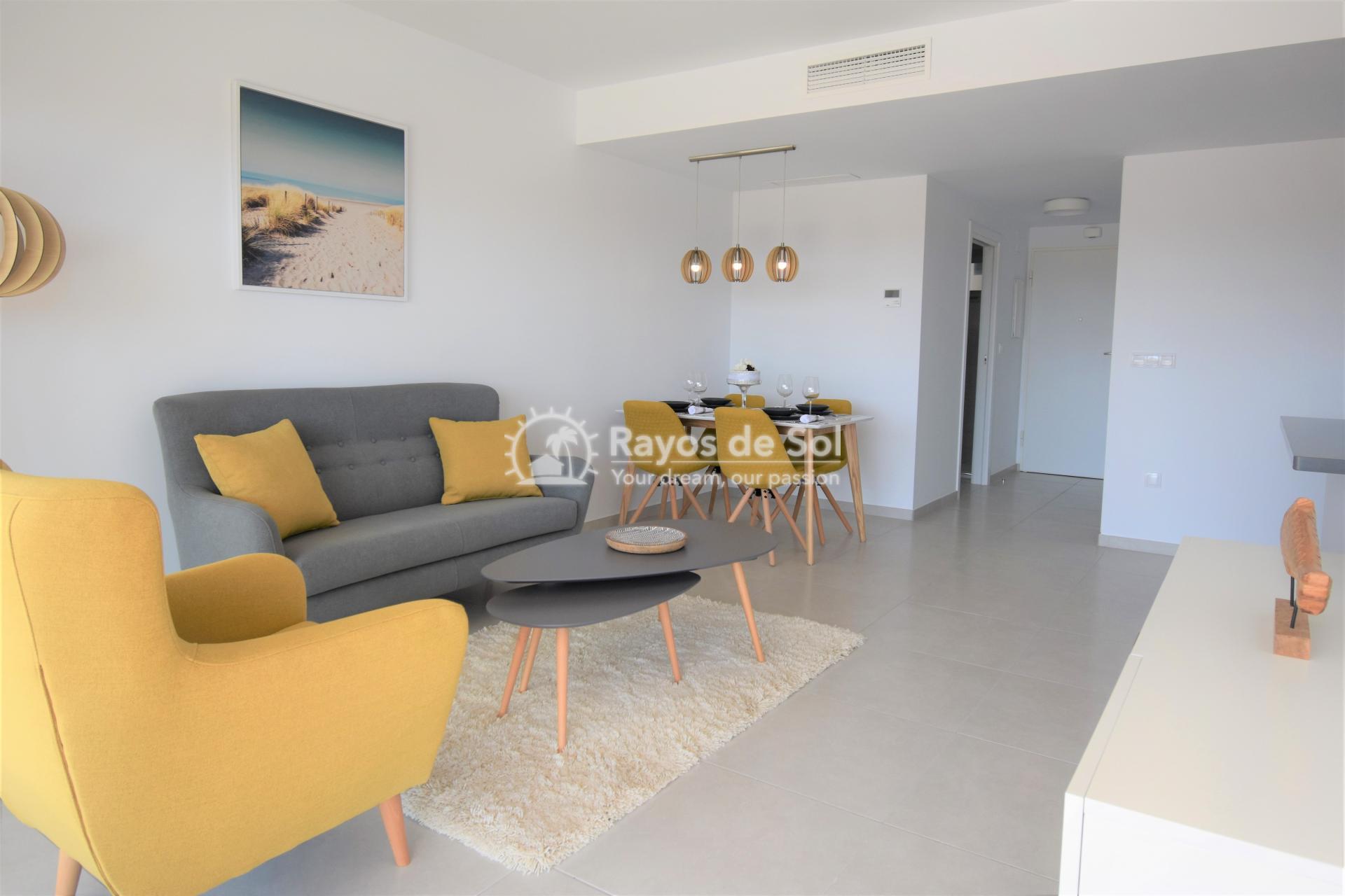 Apartment  in Los Dolses, Orihuela Costa, Costa Blanca (vgardens2-2d) - 2